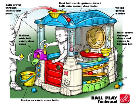 fun house play the step2 wonderball fun house designer s perspective step2 blog