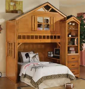 Loft Bed House Kid S Furniture Eclectic Beds Minneapolis By
