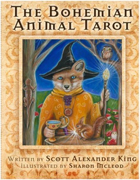 bohemian animal tarot review rockpool publishing
