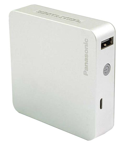 Power Bank Panasonic Shop Panasonic Smart Power Bank 5200 Mah Silver At Lowest Price In India Shop Gadgets