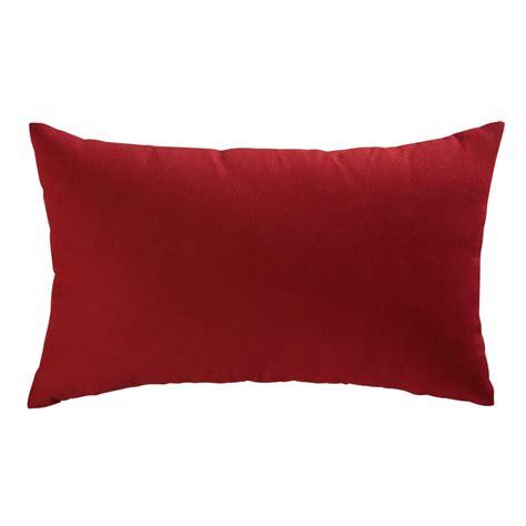 cuscini giardino cuscino da giardino rosso in tessuto stato 30x50cm