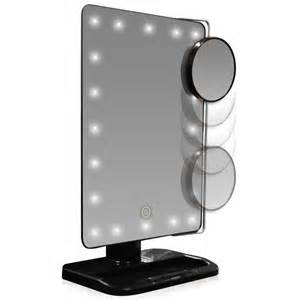 Vanity Mirror With Lights Price L E D Lighted Movable 10x Magnification Vanity Mirror