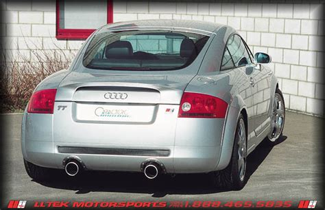 Audi Tt 8n Auspuff by Aftermarket Exhaust Options For The Audi Tt 8n