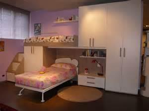 Camerette Outlet | camerette da ragazzi cameretta a ponte con letto a