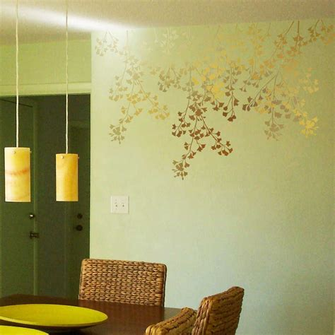 stencil decorating walls cheetah stencils for bedroom walls interiordecodir
