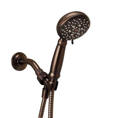 moen banbury 5 spray shower in white 23046w the
