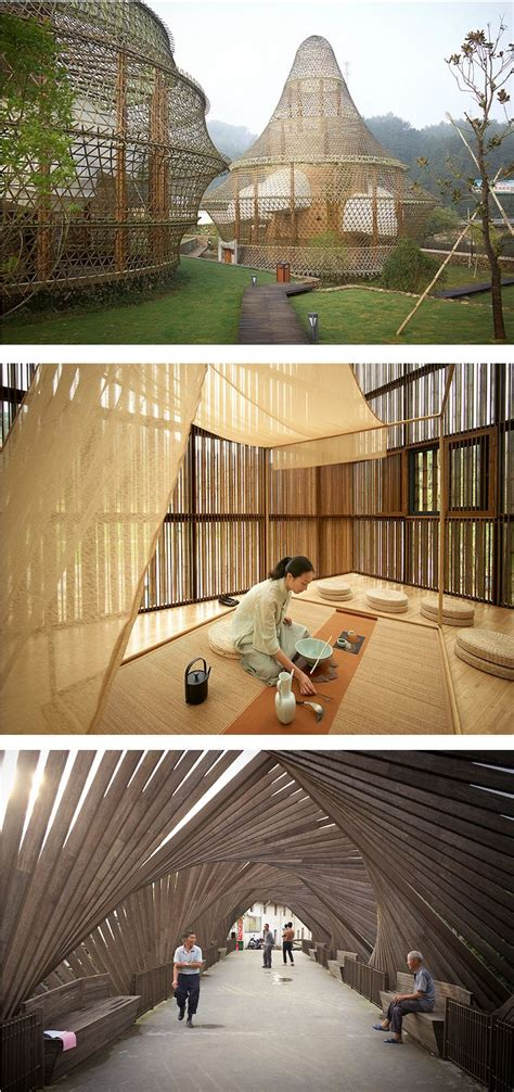 Bamboo Garden Midland Mi by Bamboo Biennale Creates Cutting Edge Structures In