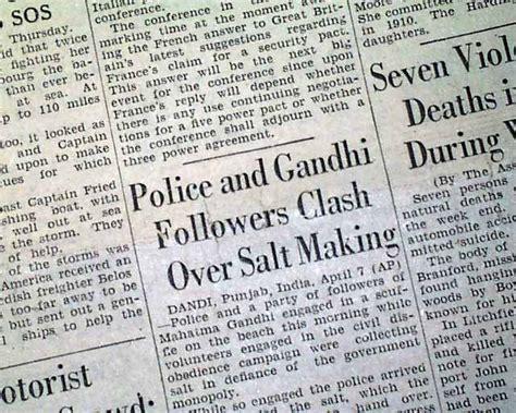 mahatma gandhi biography article mahatma gandhi salt march rarenewspapers com