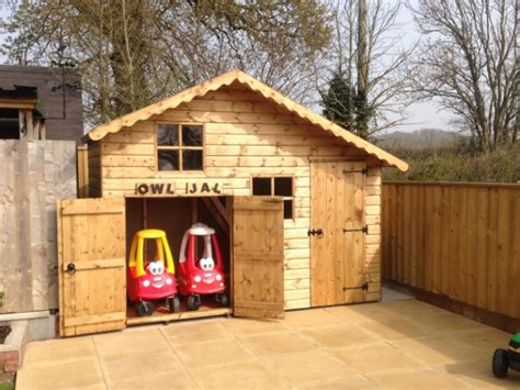 our crooked story kids crooked house childrens playhouses from sheds direct devon