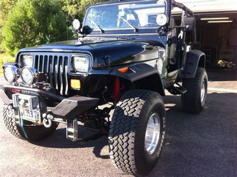 modified jeep wrangler 2 door buy used custom 1994 jeep wrangler sport utility 2 door 4