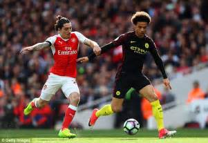 arsenal remembers arsenal 2 2 manchester city player ratings daily mail
