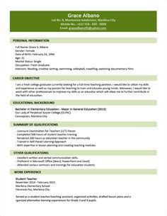 Ojt Resume Sle For Accounting Student