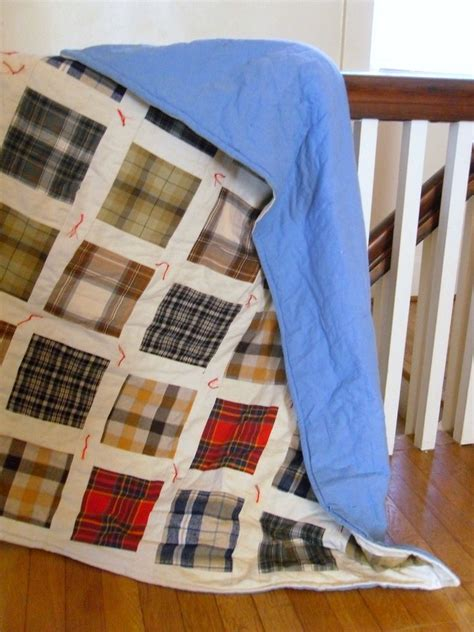 Quilt Made From Shirts by Tips For A Cozy Flannel Quilt Quilting Digest