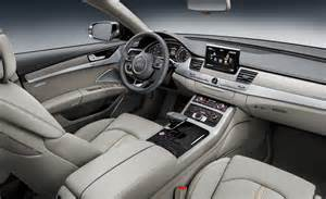Audi W12 Interior Car And Driver