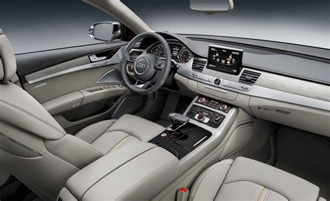 Audi W12 Interior by Car And Driver