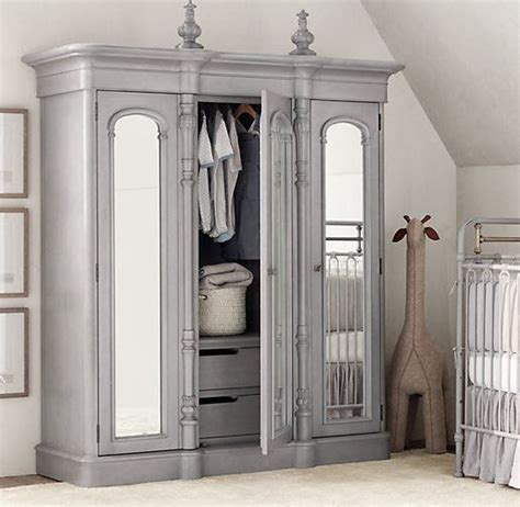restoration hardware armoire i love this chronicles of narnia type of wardrobe armoire from restoration hardware baby child