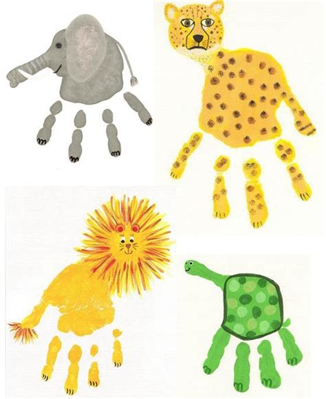 handprint crafts 8 easy winter craft projects for