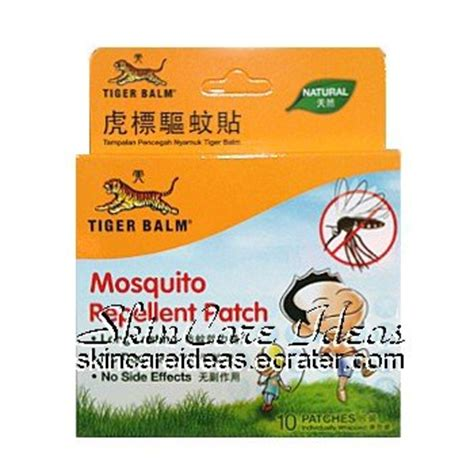Tiger Balm Active Gel Cool tiger balm mosquito repellent patch 10 patches