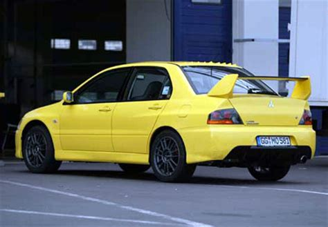 mitsubishi evo 7 stock finally a yellow evo with evo9 front end page 3