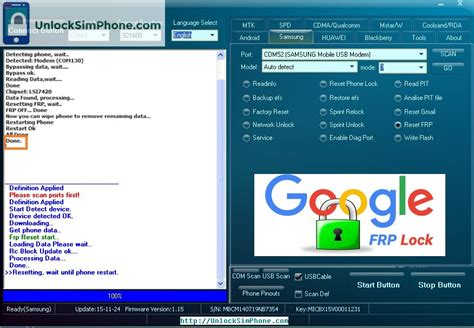 reset samsung via pc samsung frp tool samsung factory reset protection bypass