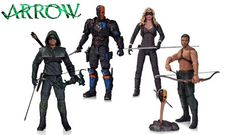 Tas Cw news arrow figures sdcc 2014