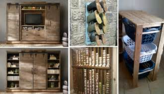 meubles en palettes de bois en 25 id 233 es pour chaque espace