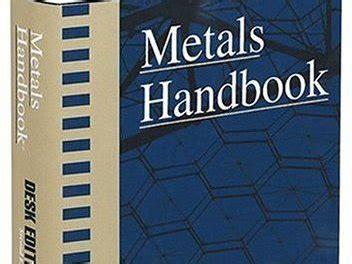 pdf epub asm handbook volume asm metals handbook volume 1 pdf