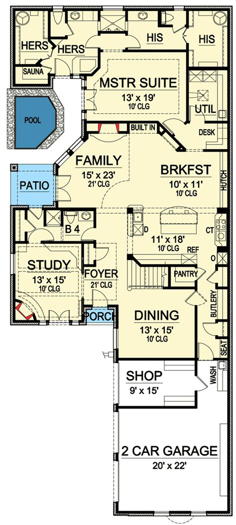 house plans with and bathrooms his and bathrooms 36170tx architectural designs house plans