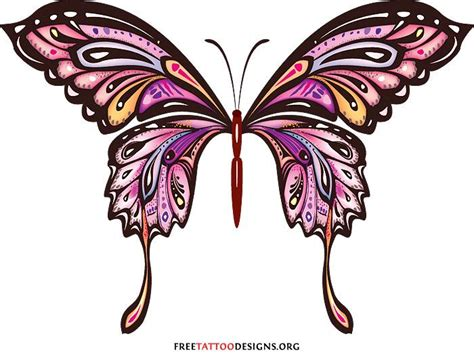 butterfly tattoo clipart 612 best images about clip art butterfly on pinterest