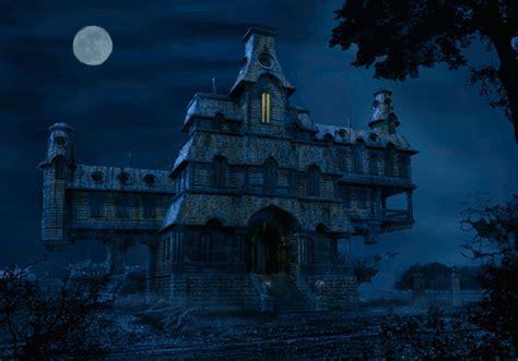 house animated gif animated haunted house wallpaper wallpapersafari
