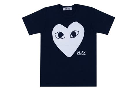 Cdg Square Shirt Navy comme des garcons the style raconteur