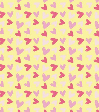 Seamless Heart Pattern Vector | colorful vector hearts seamless pattern