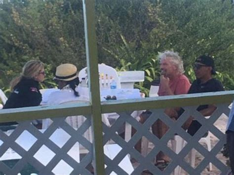 obama british virgin islands the obamas pictured with richard branson in caribbean