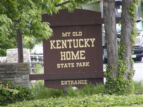 my kentucky home state park our great american