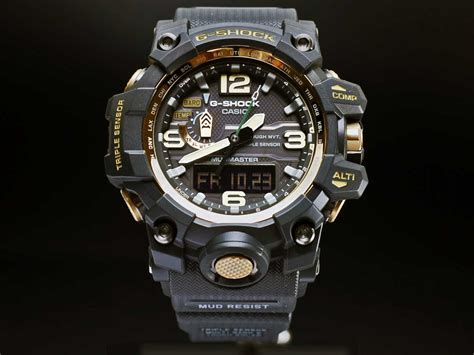 Jam Tangan G Shock Gwa1000 List Gold gwg 1000gb 1a g shock mudmaster black gold series casiowebstore