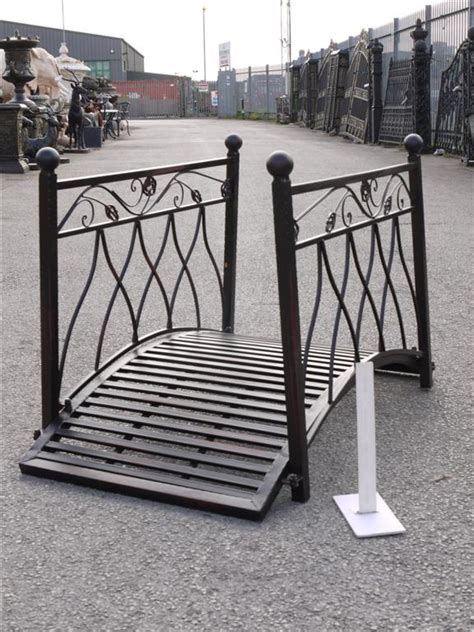 metal garden bridge decorative  functional item