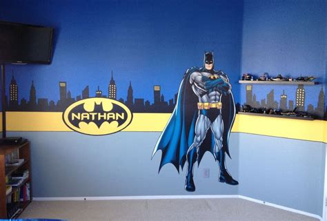 batman room decor custom batman room batman room pinterest names kid