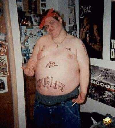 tupac tattoo fail i like to wear odd shoes thug life