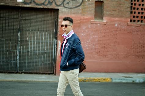 Ootd Bomber Navy Mo members only