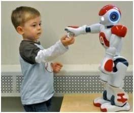 film robot e bambino robot aiuta bambini con problemi di autismo elettronica