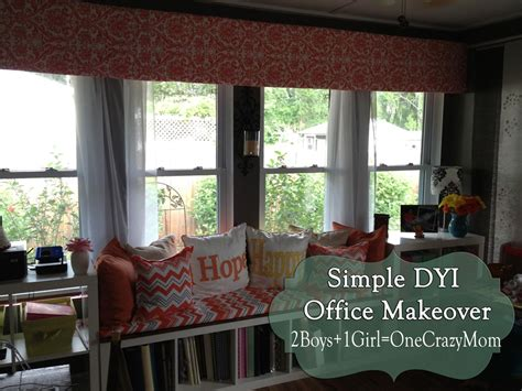 Office Valances Make Your Own Diy Window Valance In No Time An No Sew 2
