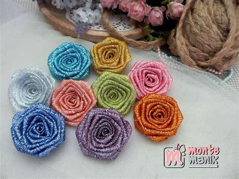 Bunga Gliter aplikasi bunga mawar glitter apb 015 montemanik