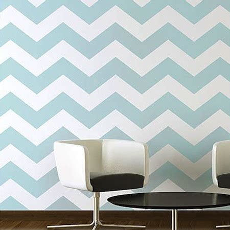 Chevron Template For Walls by Wall Stencils An Inexpensive Decorating Trend