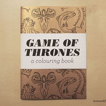 qbd of thrones colouring book of thrones a colouring book 5 x from team pop