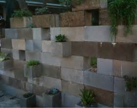 kitchen tables designer: cinder block wall design cinder block plant wall backyard pinterest on