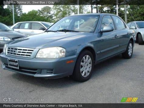 2002 Kia Optima Lx Steel Blue 2002 Kia Optima Lx Gray Interior Gtcarlot