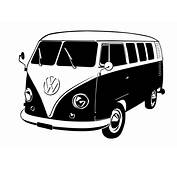 Wall Decals VW Bus  WALLTATcom Art Without Boundaries