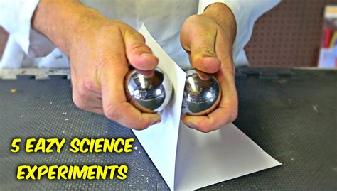 easy science experiments chemistry experiments