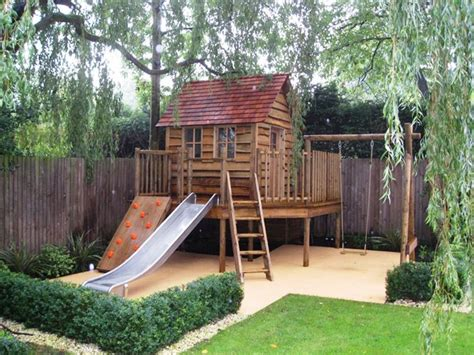 Backyard Fort Plans by Tree Fort Outdoor Misc Decorating