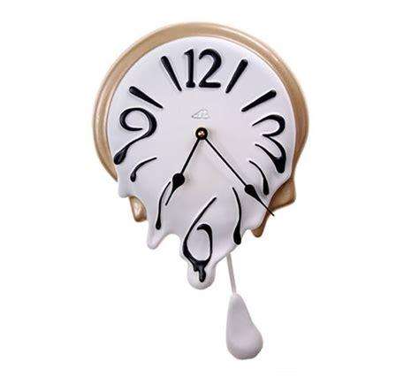 pendule horloge design pendule murale avec balancier design blanc